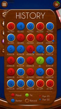 Baccarat! apk screenshot