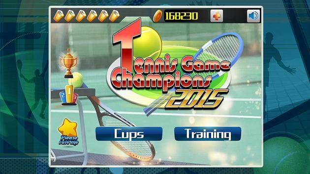 Tennis Game 2015 poster