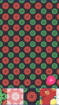 Monogram Pattern Wallpapers HD screenshot 1