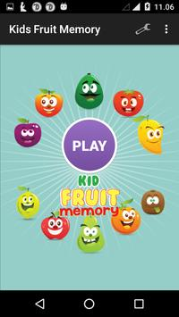 Kids Fruit Memory poster