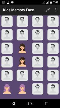 Kids Memory Face apk screenshot