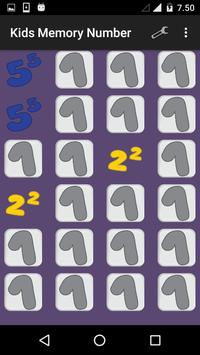 Kids Memory Number apk screenshot