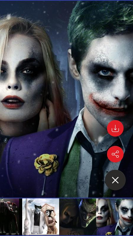 Joker And Harley Quinn Hd Wallpapers For Android Apk Download