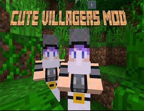 Cute Villagers Mod screenshot 1