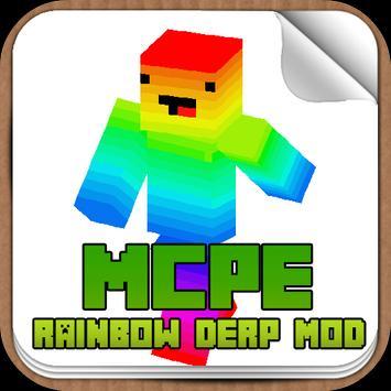 Rainbow Derp Mod poster