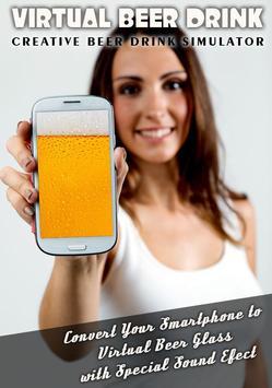 Drink Beer FREE Prank poster