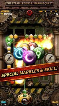 Steam Legend : Marble Quest apk screenshot