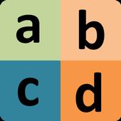 Spanish Alphabet for university students icon
