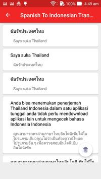 Spanish Indonesian Translator screenshot 4