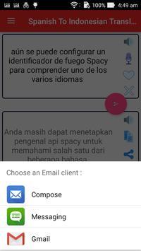 Spanish Indonesian Translator screenshot 7