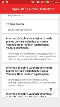 Spanish Polish Translator screenshot 4