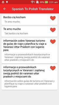 Spanish Polish Translator screenshot 5