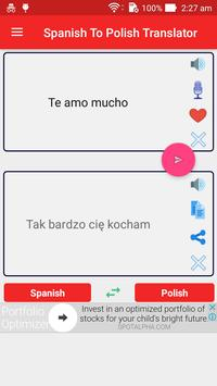 Spanish Polish Translator screenshot 9