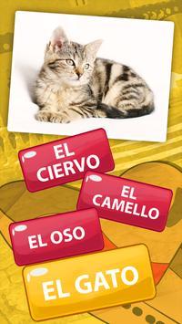 Spanish Vocabulary Quiz - Learn Spanish Words poster