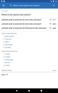 SpanishDict Translator apk screenshot