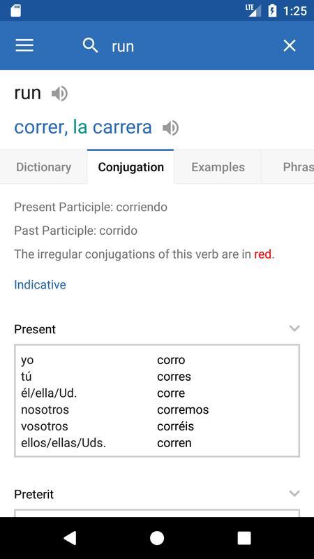 SpanishDict Translator APK Download - Free Books
