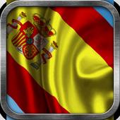 Spanish Flag Live Wallpaper icon
