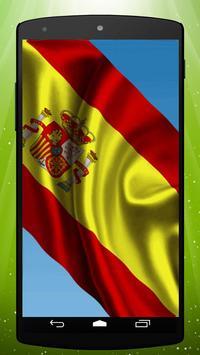Spanish Flag Live Wallpaper poster