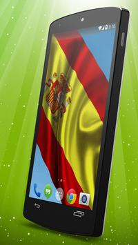 Spanish Flag Live Wallpaper apk screenshot