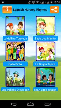 Spanish Nursery Rhymes apk screenshot