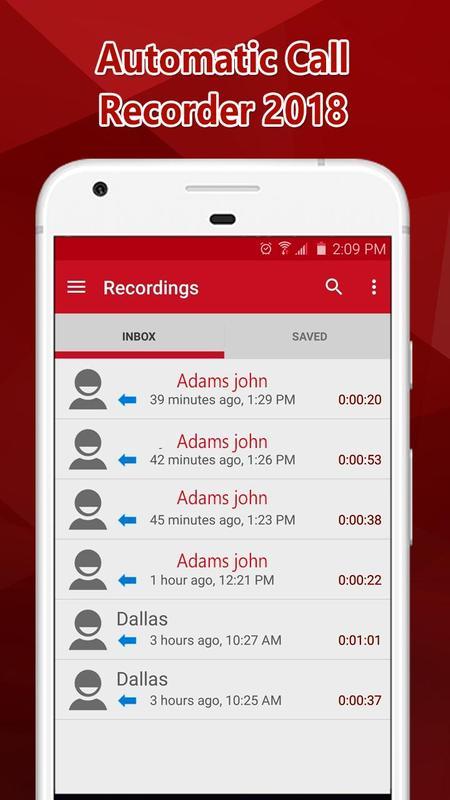 ... Trình ghi cuộc gọi tự động Ẩn ứng dụng 2018 ảnh chụp màn hình 1 ...