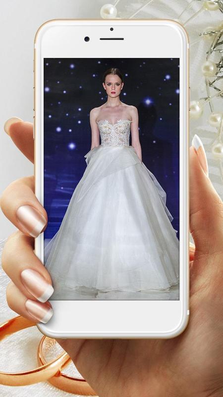 Fashion wedding dress design apk download free lifestyle for Wedding dress designer game