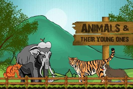 Animals & Their Young Ones poster