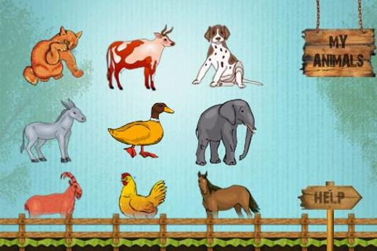 Animals & Their Young Ones screenshot 1