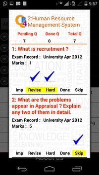 QB4 TYBCS Pune apk screenshot