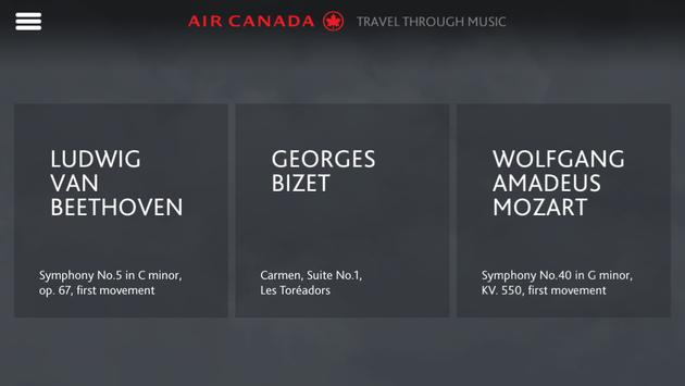 Maestro by Air Canada poster