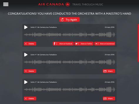 Maestro by Air Canada apk screenshot