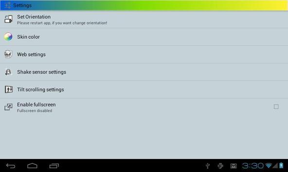Space Browser LITE apk screenshot