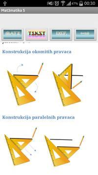 Matematika 5 osnovna škola apk screenshot