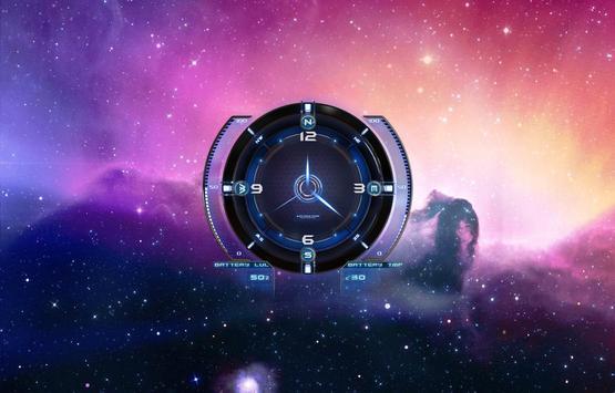 Galaxy Theme HD Live Wallpaper screenshot 2