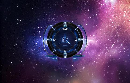 Space Universe Live Wallpaper Screenshot 2