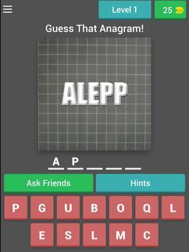 Guess That Anagram-PuzzleGames screenshot 4