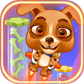 Space Rush: Jetpack Puppy Game icon