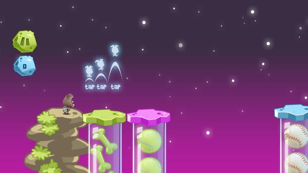 Space Rush: Jetpack Puppy Game screenshot 1