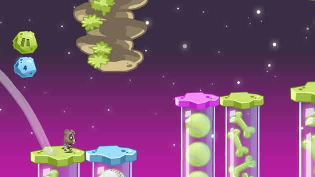 Space Rush: Jetpack Puppy Game screenshot 2