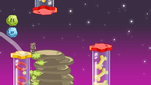 Space Rush: Jetpack Puppy Game screenshot 3