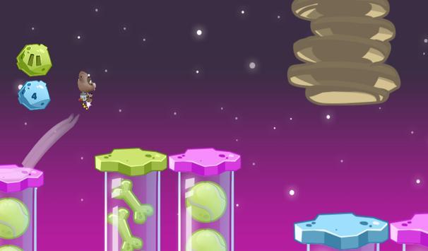 Space Rush: Jetpack Puppy Game screenshot 6