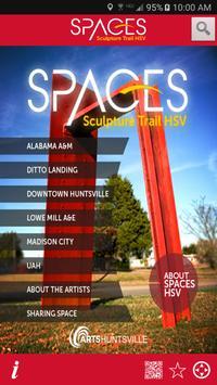 SPACES Sculpture Trail HSV poster