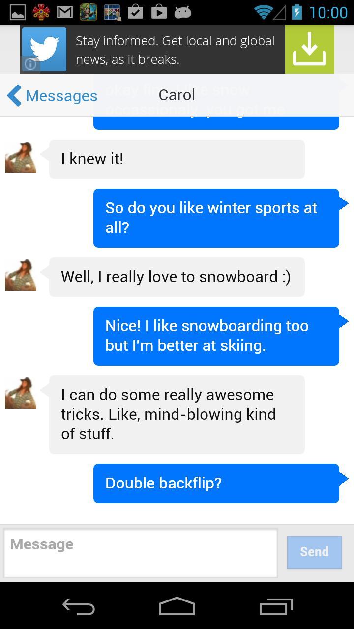 Flirt chat