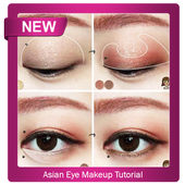 Asian Eye Makeup Tutorial أيقونة