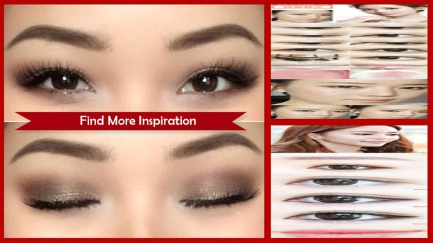 Asian Eye Makeup Tutorial تصوير الشاشة 1