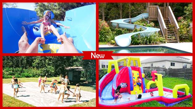 DIY Funny Slip And Slide Waterpark poster