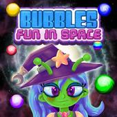 Bubbles Fun In Space أيقونة