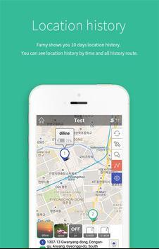 FAMY - keluarga chat & lokasi screenshot 3