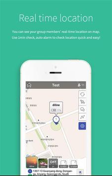 FAMY - keluarga chat & lokasi screenshot 2
