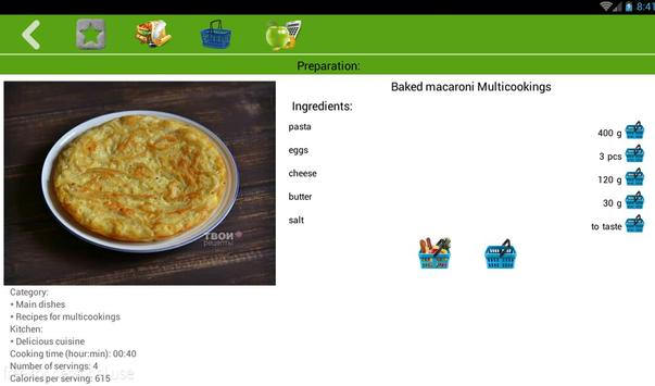 Spaghetti recipes apk screenshot